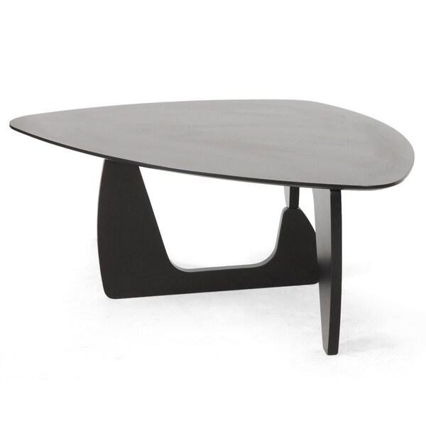 Hoover Dark Brown Modern Coffee Table
