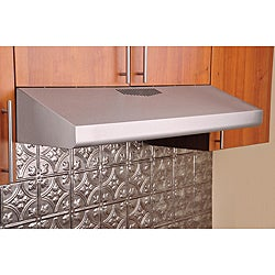 KOBE Brillia CHX30 Series 36-inch Under Cabinet Steel Panel Filter Range Hood