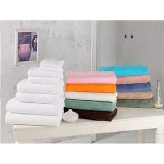 Salbakos Arsenal Turkish Quick Dry 8-piece Towel Set with Bath Towels