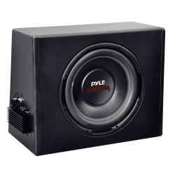 Pyle 400W 12-inch Slim Design Powered Enclosure System