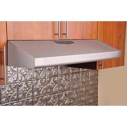 KOBE Brillia CHX30 Series 36-inch Under Cabinet Glass Panel Filter Range Hood