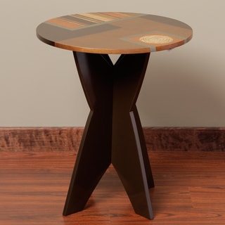 Amaro Wood End Table (Peru)