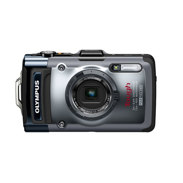 Olympus Tough TG-1 iHS 12MP Silver Digital Camera