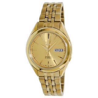 Seiko Men's Seiko 5 Goldtone Watch