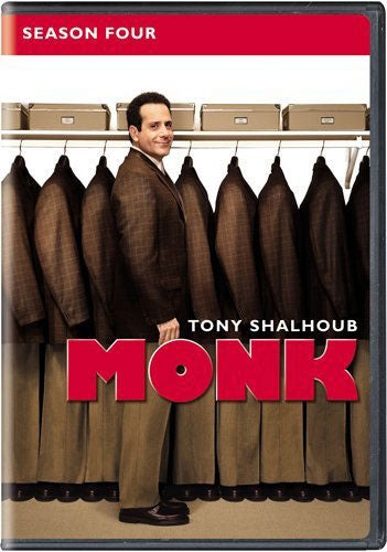 Monk: Season Four (DVD)