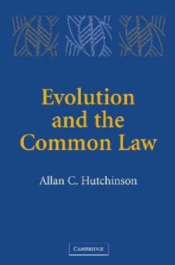 Evolution And The Common Law (Paperback)