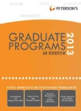 Peterson's Graduate & Professional Programs and Overview 2013 (Hardcover)