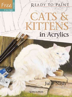 Cats & Kittens in Acrylics (Paperback)