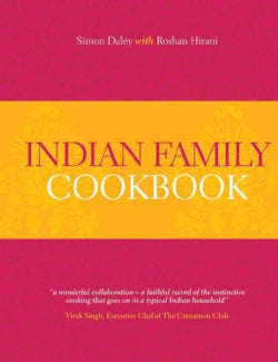 Indian Family Cookbook (Hardcover)