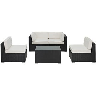 Camfora Outdoor Rattan 4-piece Set