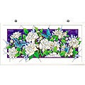 Joan Baker Hand Painted Gardenias Art Panel