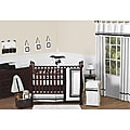 Sweet Jojo Designs Hotel 9-piece Crib Bedding Set in Black