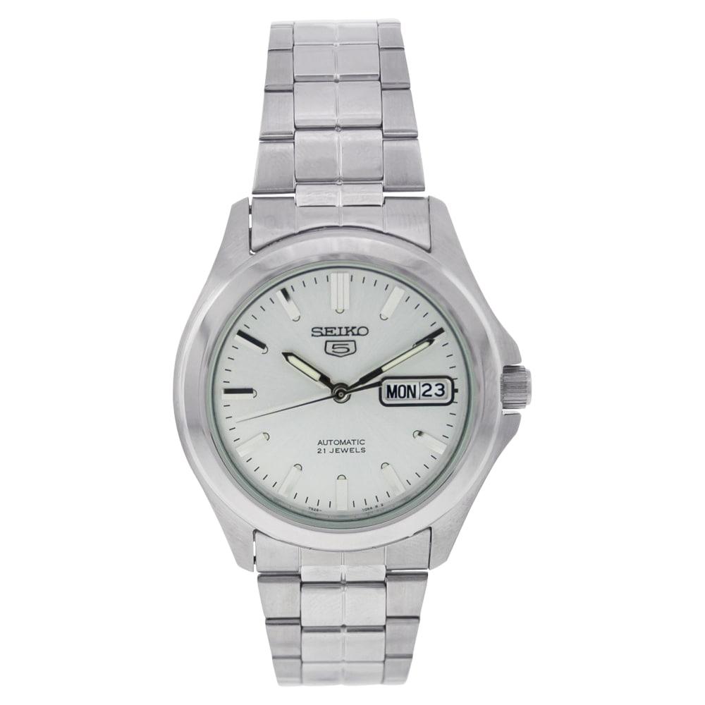 Seiko 5 Men's SNKK87K1 Silver Watch