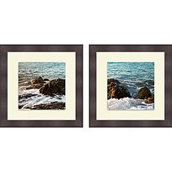Susan Bryant 'On the Rocks I & II' Framed Print