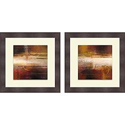 Michael Marcon 'Force Ten I & II' Framed Print
