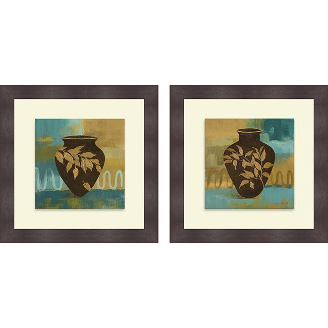 Lanie Loreth 'Hidden Treasure I & II' Framed Print