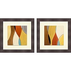 Lanie Loreth 'Summer Coalescence I & II' Framed Print