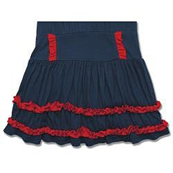 Beetlejuice London Girls' Navy/ Red Dress