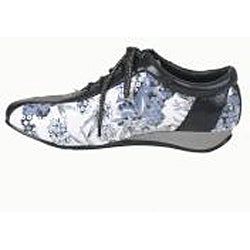 Bolaro by Beston Women's Black Printed Sneakers
