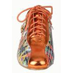 Bolaro by Beston Women's Coral Printed Sneakers