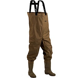 Hodgman Mackenzie Brown 100-percent Nylon/PVC Booted Chest Wader