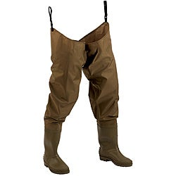 Hodgeman Mackenzie Brown Cleated Hip Wader