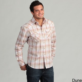 Dragonfly Men's Plaid Woven Shirt