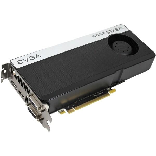 EVGA GeForce GTX 670 Graphic Card - 915 MHz Core - 2 GB GDDR5 - PCI E