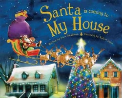 Santa Is Coming to My House (Hardcover)