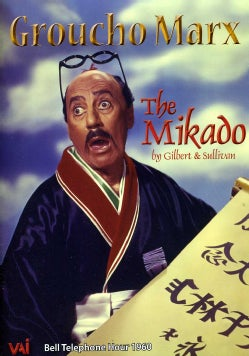 "Groucho Marx In ""The Mikado"" (DVD)"