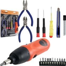 Manual 27-piece Screwdriver Set with Pliers