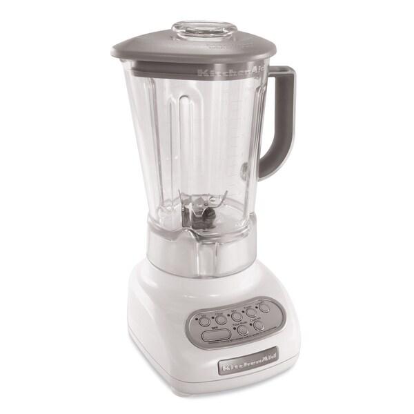 KitchenAid RKSB560WH 5-speed Blender with BPA-Free Pitcher (Refurbished)
