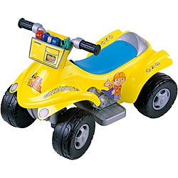 Bob the Builder 4x4 6-volt Ride-on Power ATV with Tool Bag