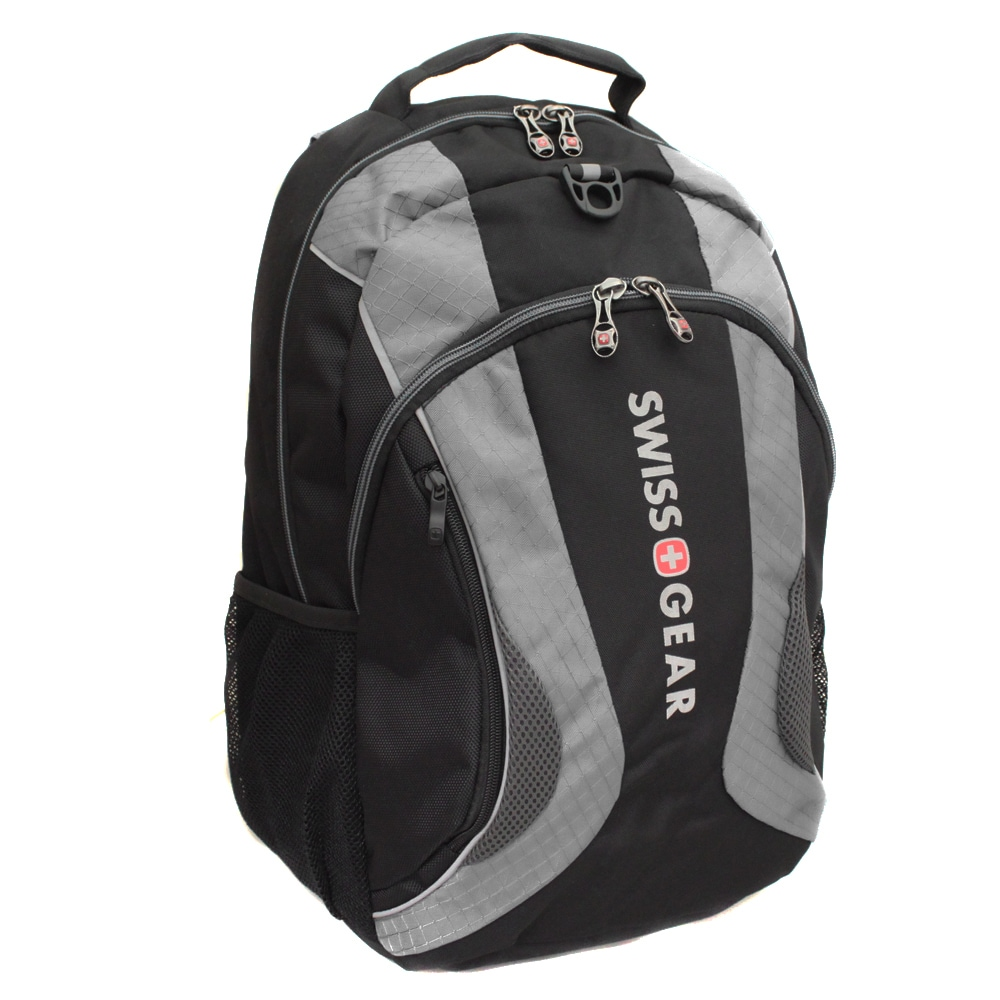 SwissGear The Mercury Grey 16-inch Laptop Computer Backpack