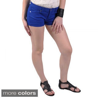 Hailey Jeans Co. Juniors Stretch Short Shorts