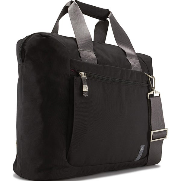 Case Logic XNT-1 Black Nylon Carry-on Zippered Tote Bag