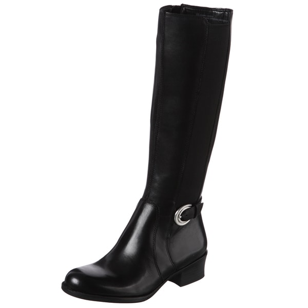 Naturalizer Women's 'Arness' Black Wide Calf Boots