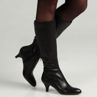 Naturalizer Women's 'Dinka' Black Wide Calf  Boots