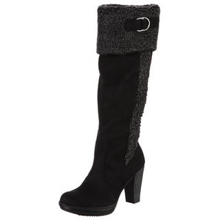Naturalizer Women's 'Trinity' Wide Calf Shearling Boots