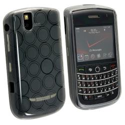 BasAcc Clear Smoke TPU Rubber Case for Blackberry Tour 9630