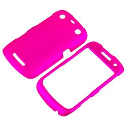 BasAcc Pink Rubber Coated Case for Blackberry Curve 9350/ 9360/ 9370