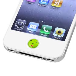 BasAcc Animal Home Button Sticker for Apple iPhone/ iPad (Pack of 6)