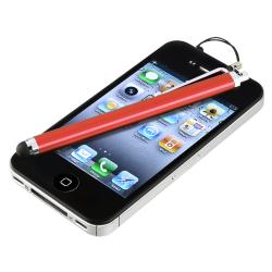 BasAcc Red Touch Screen Stylus for Apple iPhone/ iPad/ iPhone
