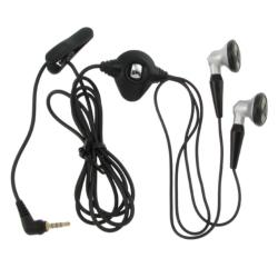 BasAcc Black 2.5-mm Stereo Headset for Blackberry Pearl 8100/ 8800
