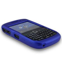 BasAcc Blue Rubber Coated Case for Blackberry Curve 8520/ 9300