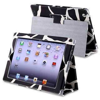 Milk Cow Faux-leather Protective Case with Stand for Apple iPad 3/ 4