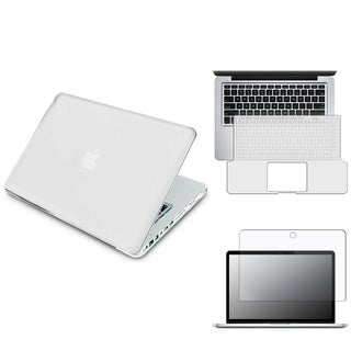 INSTEN Laptop Case Cover/ Screen Protector/ Keyboard Shield for Apple MacBook Pro 13-inch