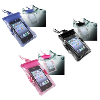 Hot Pink Universal Waterproof Bag for Cell Phone/ PDA