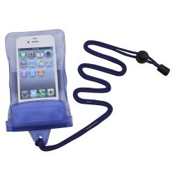 Universal Blue Waterproof Bag Case for Cell Phone/ PDA