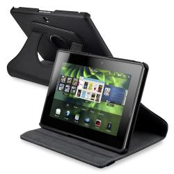 Black 360-degree Swivel Case for BlackBerry PlayBook